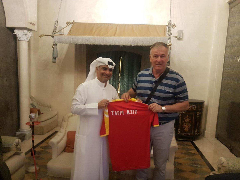 Мирсад Јонуз ја отвори вратата за соработка со фудбалски Катар  (ФОТО)